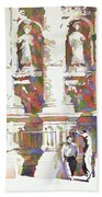 Zacatecas Cathedral Beach Towel