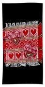 Zagreb Love Beach Towel