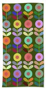 Zappwaits Flower Beach Towel