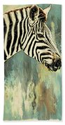 Zebra Abstracts Too Beach Towel