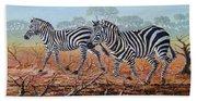 Zebra Crossing Beach Towel