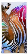 Zebra Dreams Beach Towel