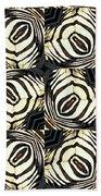Zebra IIi Beach Towel