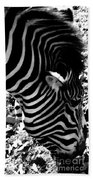 Zebra2 Beach Towel