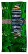 Zen Art And Reflections By Kaye Menner Beach Towel