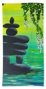Zen Time Beach Towel