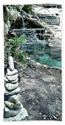 Zen Water Italy Beach Towel