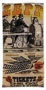Zeppelin Express Work B Beach Towel
