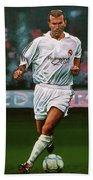 8d0bdb05e Zidane At Real Madrid Painting T-Shirt for Sale by Paul Meijering