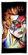 Ziggy Stardust Beach Towel