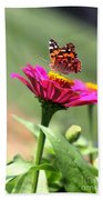 Zinnia Visitor Beach Towel