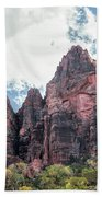 Zion Canyon Terrain Beach Towel