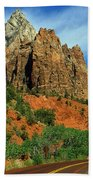 Zion National Park Utah Beach Towel