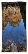 Zion Reflections Beach Towel