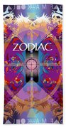 Zodiac 2 Beach Towel
