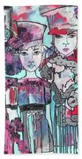Zoni.girl Haute Couture Beach Towel