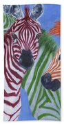 Zzzebras Beach Towel