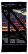 008 - Trestle Sunset Beach Towel