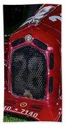 A 1930 Alfa Romeo 6c 1750 Gs  Beach Sheet