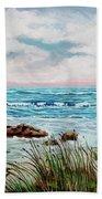 A Morning View Beach Towel