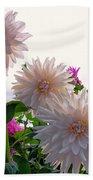 Among The Flowers Beach Towel