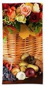 Autum Harvest Beach Sheet