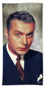 Charles Boyer, Vintage French Actor Beach Towel