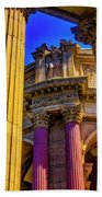 Columns Of The Palace Of Fine Arts Beach Sheet