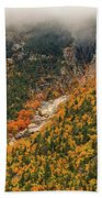 Crawford Notch Fall Foliage Beach Towel