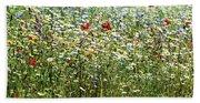 Flower Meadow Beach Sheet