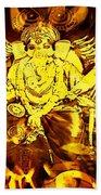 Ganesha4 Beach Towel