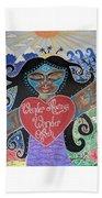 Goddess Of Wonder Beach Sheet