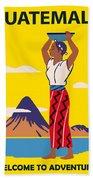 Guatemala Beach Towel