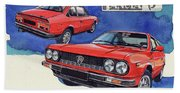 Lancia Beta 1300 Beach Towel