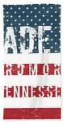 Made In Ardmore, Tennessee Beach Towel