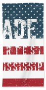 Made In Artesia, Mississippi Beach Towel