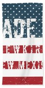 Made In Newkirk, New Mexico Beach Towel