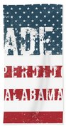Made In Perdido, Alabama Beach Towel