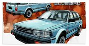 Nissan Bluebird Sw Beach Towel