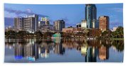 Orlando Skyline Beach Sheet