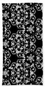 Ornate Pattern Drawing Beach Towel
