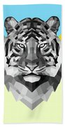 Party Tiger Beach Towel