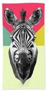 Party Zebra  Beach Sheet