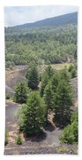 Photography Landscape Shot From The Etna National Park On Sicily Beach Towel