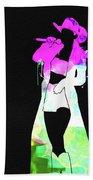 Shania Watercolor Beach Towel
