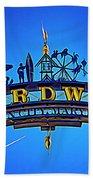The Boardwalk Beach Towel by Paul Wear