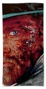 The Wounded Cowboy Beach Towel