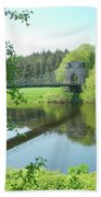 Union Bridge At Horncliffe On River Tweed Beach Towel