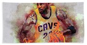 Lebron Raymone James Beach Towel