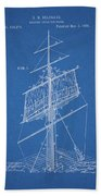1885 Sails Patent Beach Sheet